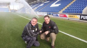 Colchester United chooses  Toro TDC irrigation