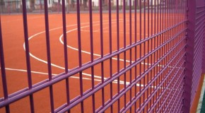 Zaun fencing for sports and security
