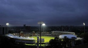 Lord's new floodlights