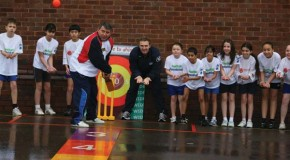 'Three cheers for volunteers' – says former England Manager Graham Taylor OBE