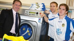 JTM Service tackles Leeds United's whites