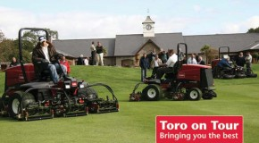 Toro on tour 2009 – manufacturer tours Britain with latest models