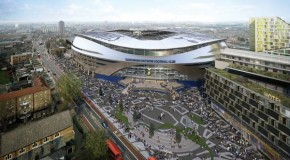New single tier stand for Spurs stadium