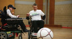 Wheelchair football project ready to roll with £134,445 funding success