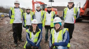 GB Canoe team visit Broxbourne White Water Canoe Centre to view progress
