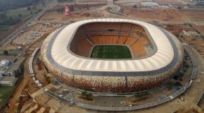 Flowcrete floors installed at Soccer City for FIFA World Cup
