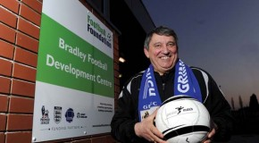 Former England Manager opens new football centre in Grimsby