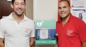 SafeTIC provides peace of mind with installation of the smart DOC® defibrillator at health club