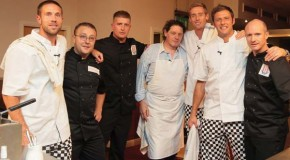 Lindley chefs give players a hand in Marco's stoke kitchen