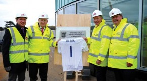 St.George's Park celebrates topping-out of Hilton and Hampton by Hilton Hotels