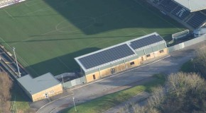 Forest Green Rovers point to sustainable sport with PV array