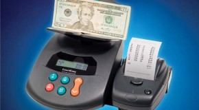 New CountEasy IP currency scale with wireless printer for fast cash counting
