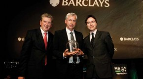 Alan Pardew presented with LMA Manager of the Year Award
