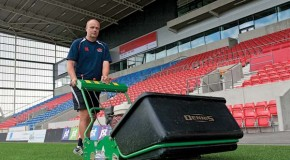 It's no nine to five for Salford's Groundsman