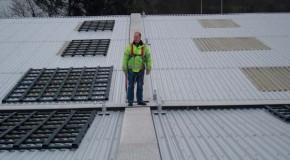 Warning – Roof safety systems must not be used without testing!